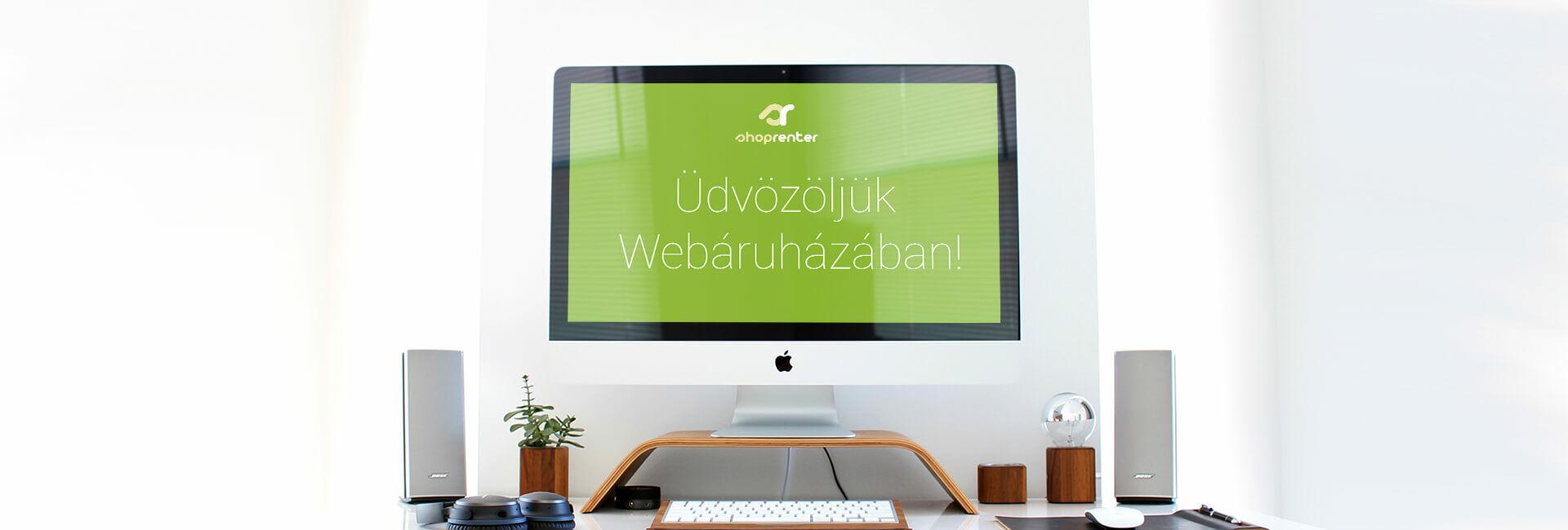Üdvözlő banner